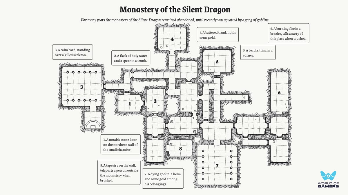 One Page Dungeon Generator