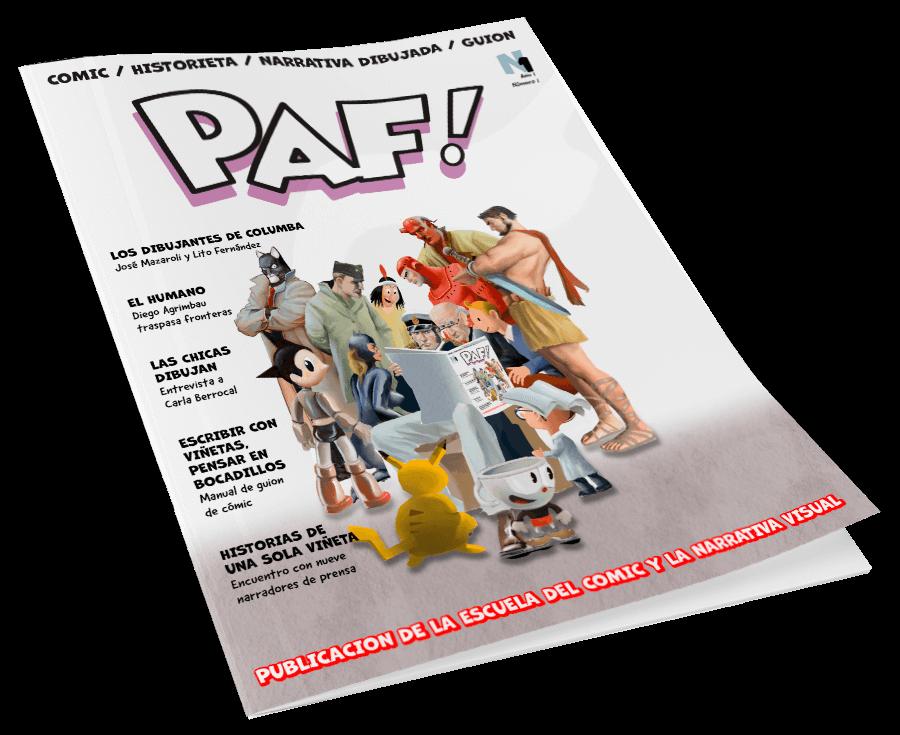 PAF! Comics Revista